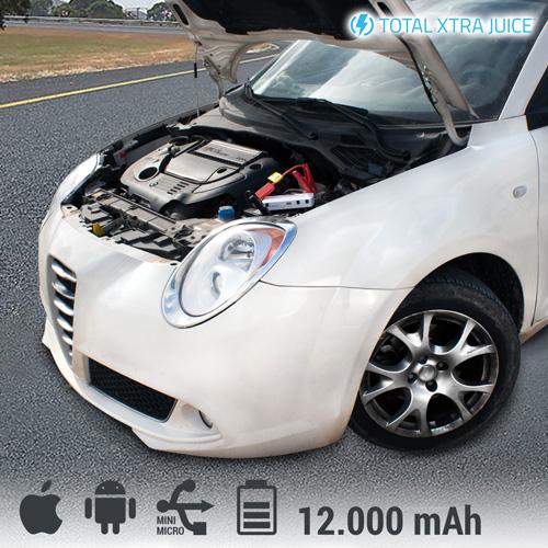 Prenosna Baterija Total Xtra Juice za Zagon Avtomobila