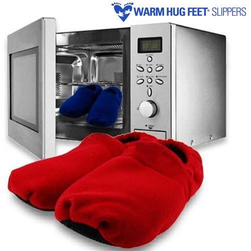 Warm Hug Feet Copati Mikrovalovka - Modra