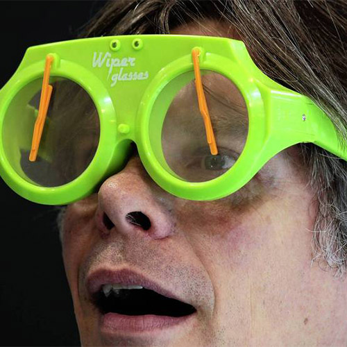 Wiper Glasses Očala z Brisalci - Modra