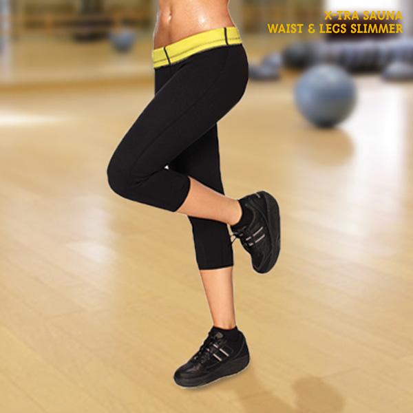 Športne Legice X-Tra Sauna Waist & Legs Slimmer - S