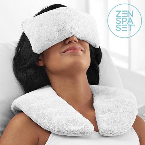 Zen Spa Set (Vzglavnik + Sproščujoče Blazine) | Hladno & Toplo